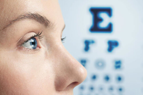 Kurzcheck beim Augenarzt in Teufen