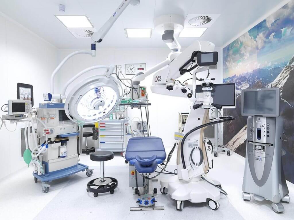 OP Saal für Augenoperation