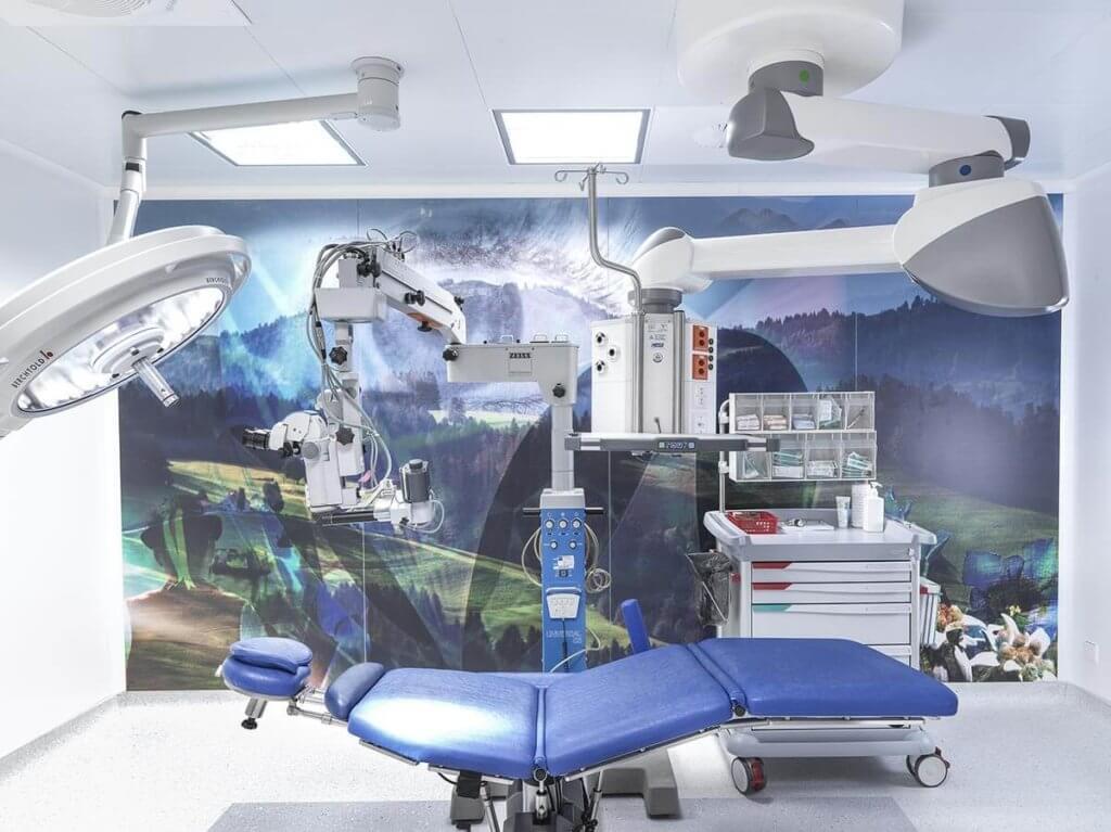 Operationssaal zum Augen lasern