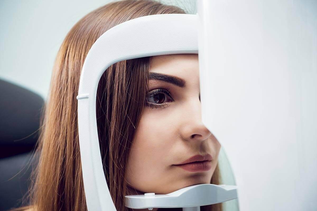 Augenuntersuchung Augenklinik Teufen